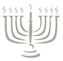 menorah with 8 arms